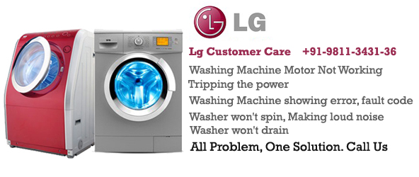 LG Washing Machine Customer Care